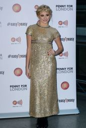 Pixie Lott - Penny For London at St Pancras Station in London - December 2014