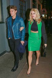 Pixie Lott Style - Headed to Groucho Club in London - December 2014