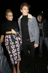 Pixie Lott Style- Sunday Times Style Xmas Party in London - December 2014