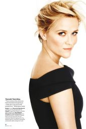 Reese Witherspoon - Glamour Magazine (USA) - January 2015 Issue
