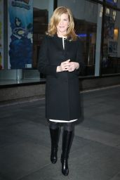 Rene Russo at NBC Studios for an appearance on the