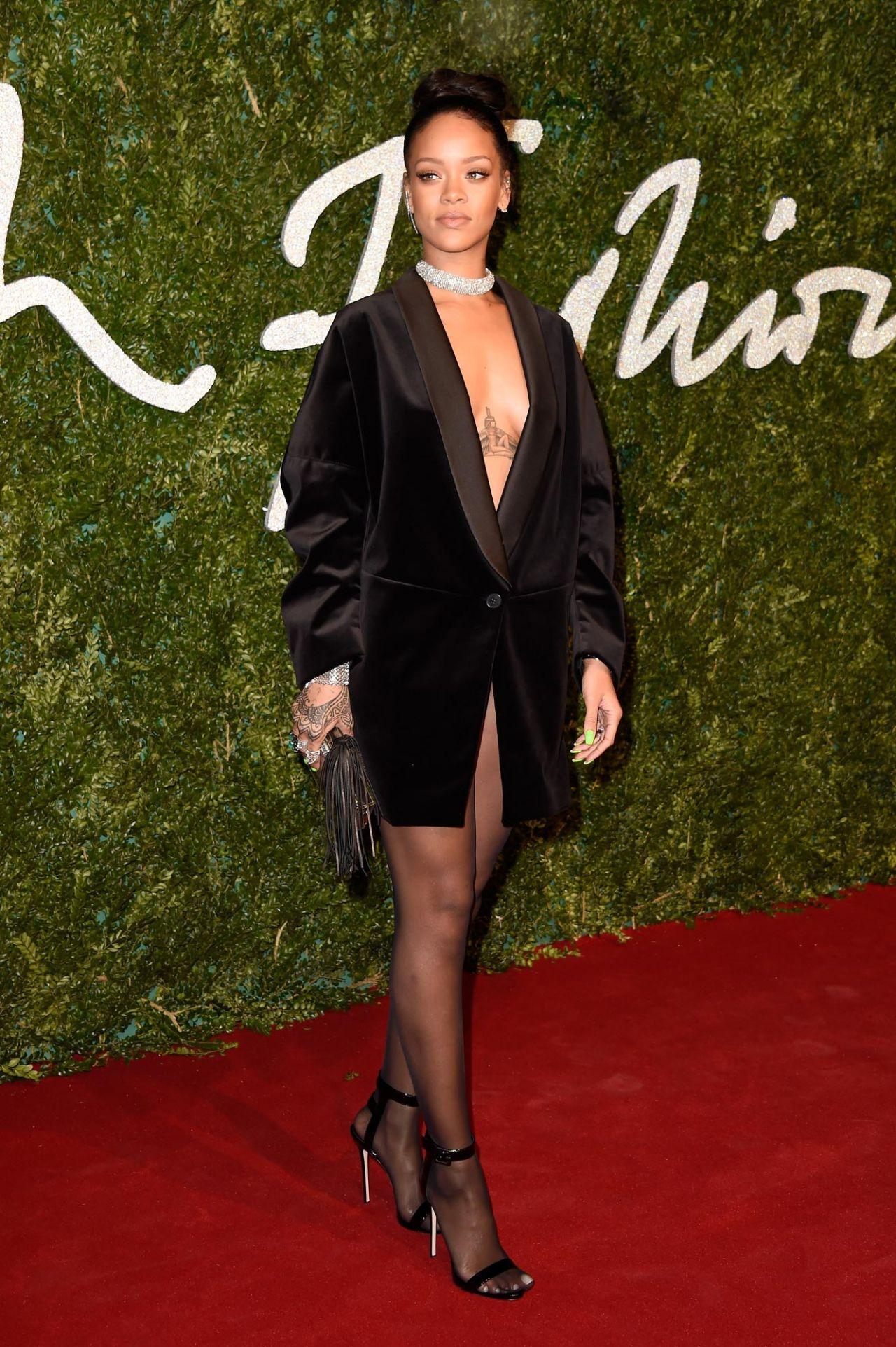 Rihanna 2014 British Fashion Awards In London