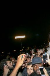 Rihanna - Crowd Surfing in Paris - December 2014