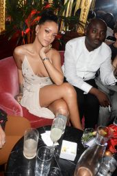 Rihanna - Party in Celebration of Edward Enninful in London - December 2014