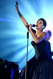 Rihanna Performs Live at The Clara Lionel Foundation Presents The Inaugural Diamond Ball - December 2014