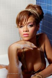 Rihanna Photoshoot - Young & Pretty in a Swimsuit (2014)