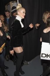 Rita Ora on Red Carpet – Z100's Jingle Ball 2014 in New York City