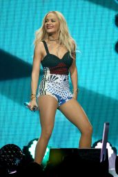Rita Ora Performs at 101.3 KDWB's Jingle Ball 2014 in St Paul