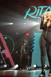 Rita Ora Performs at Q102