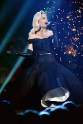 Rita Ora - Performs at TNT Christmas in Washington 2014