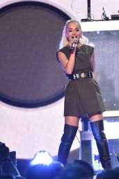 Rita Ora - Performs at Z100's Jingle Ball 2014 in New York City