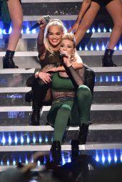 Rita Ora - Performs at Z100's Jingle Ball 2014 in New York City