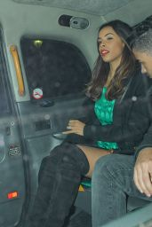 Rochelle Humes (The Saturdays) - Love Magazine Christmas 2014 Party in London