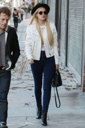 Rumer Willis Style - Out in Los Angeles, December 2014