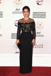 Salma Hayek - Ajyal Youth Film Festival 2014 Day 6 in Doha, Qatar