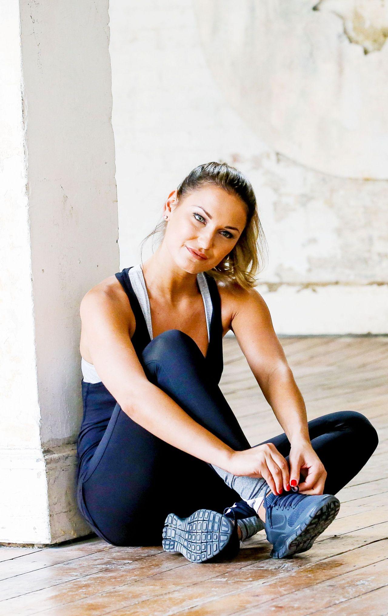 Sam Faiers Workout Photoshoot 2014