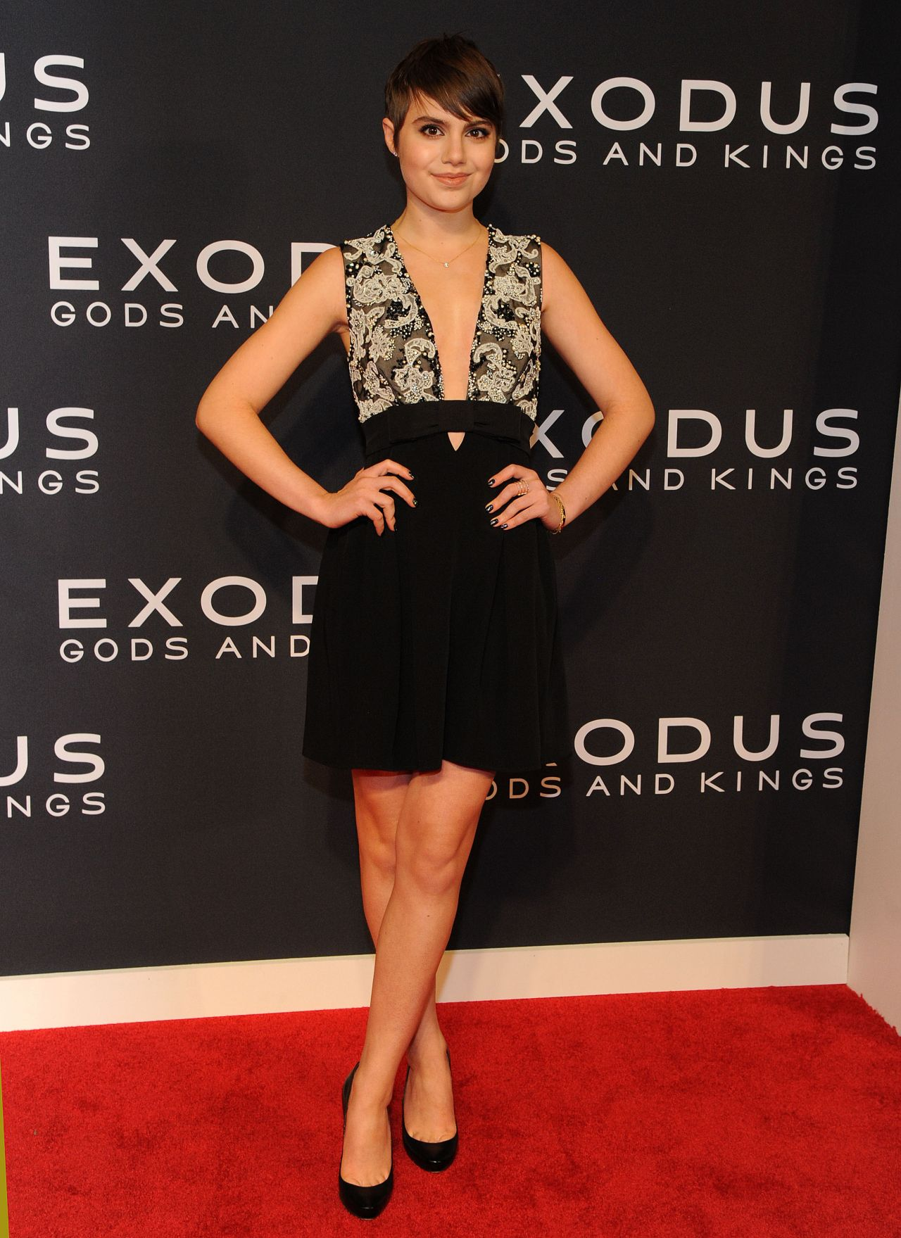 Sami Gayle Exodus Gods And Kings Premiere In New York