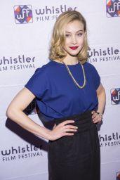 Sarah Gadon - 2014 Whistler Film Festival in Canada