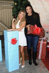 Sarah Hyland - Delta Air Lines 2014 Holiday In The Hangar Celebration in Los Angeles