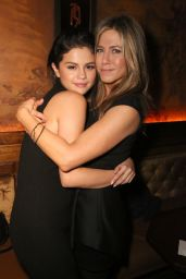 Selena Gomez & Jennifer Aniston - CAKE Party for Jennifer Aniston in Hollywood - December 2014
