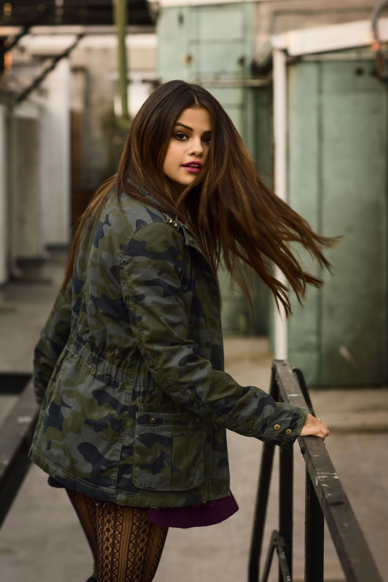 Selena gomez photoshoot for adidas neo winter 2014 - Photo selena gomez 2014 ...