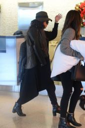 Selena Gomez Style - at JFK Airport in New York City - December 2014