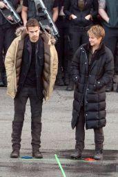 Shailene Woodley - Filming