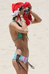 Sharni Vinson in a Bikini at a Beach in Sydney, December 2014