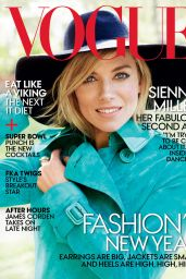 Sienna Miller - Vogue Magazine January 2015 Issue