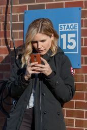 Sophia Bush on the Set of