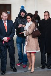 Susanna Reid Street Fashion - Leaving BBC Studios in London - December 2014