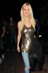 Tara Reid Night Out Style - Leaving the Roxy in West Hollywood, Dec. 2014