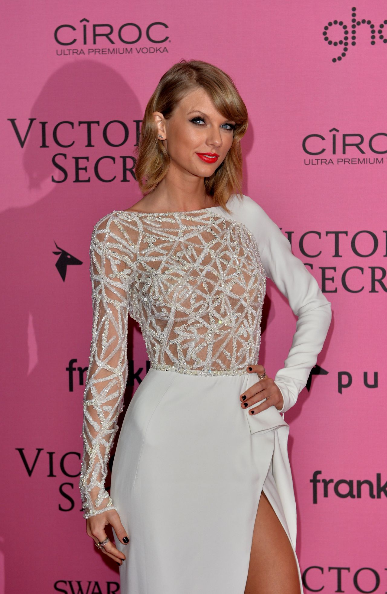 Taylor Swift 2014 Victoria S Secret Fashion Show In London After Party