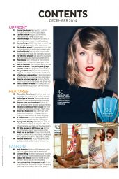 Taylor Swift - CLEO Magazine (Australia) December 2014 Issue