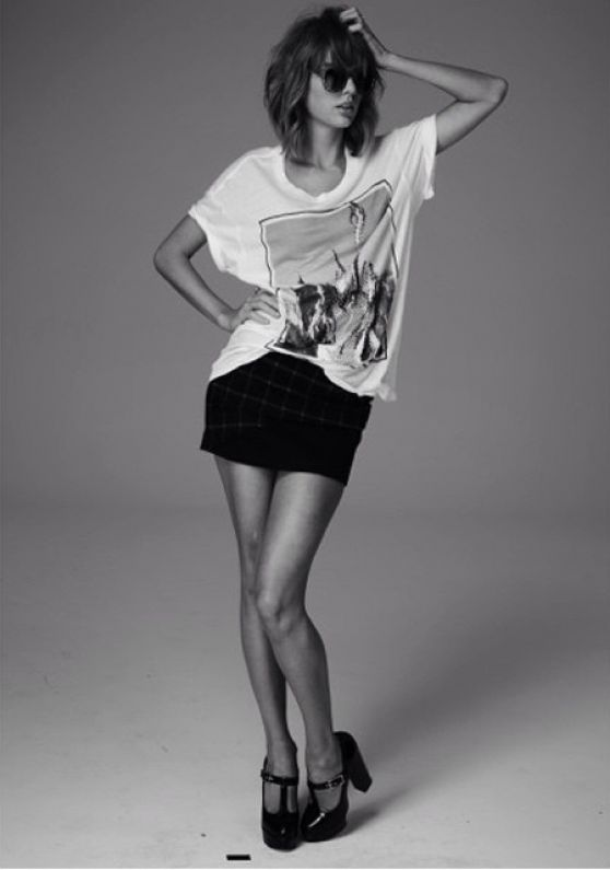 Taylor Swift Grazia Magazine France Photoshoot 2014