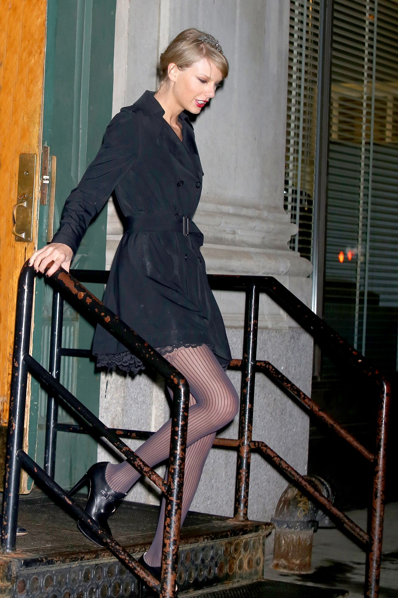 Taylor Swift Night Out Style New York City December 2014