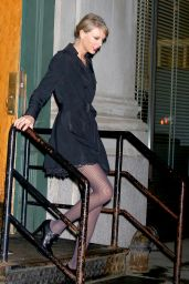 Taylor Swift Night Out Style - New York City - December 2014