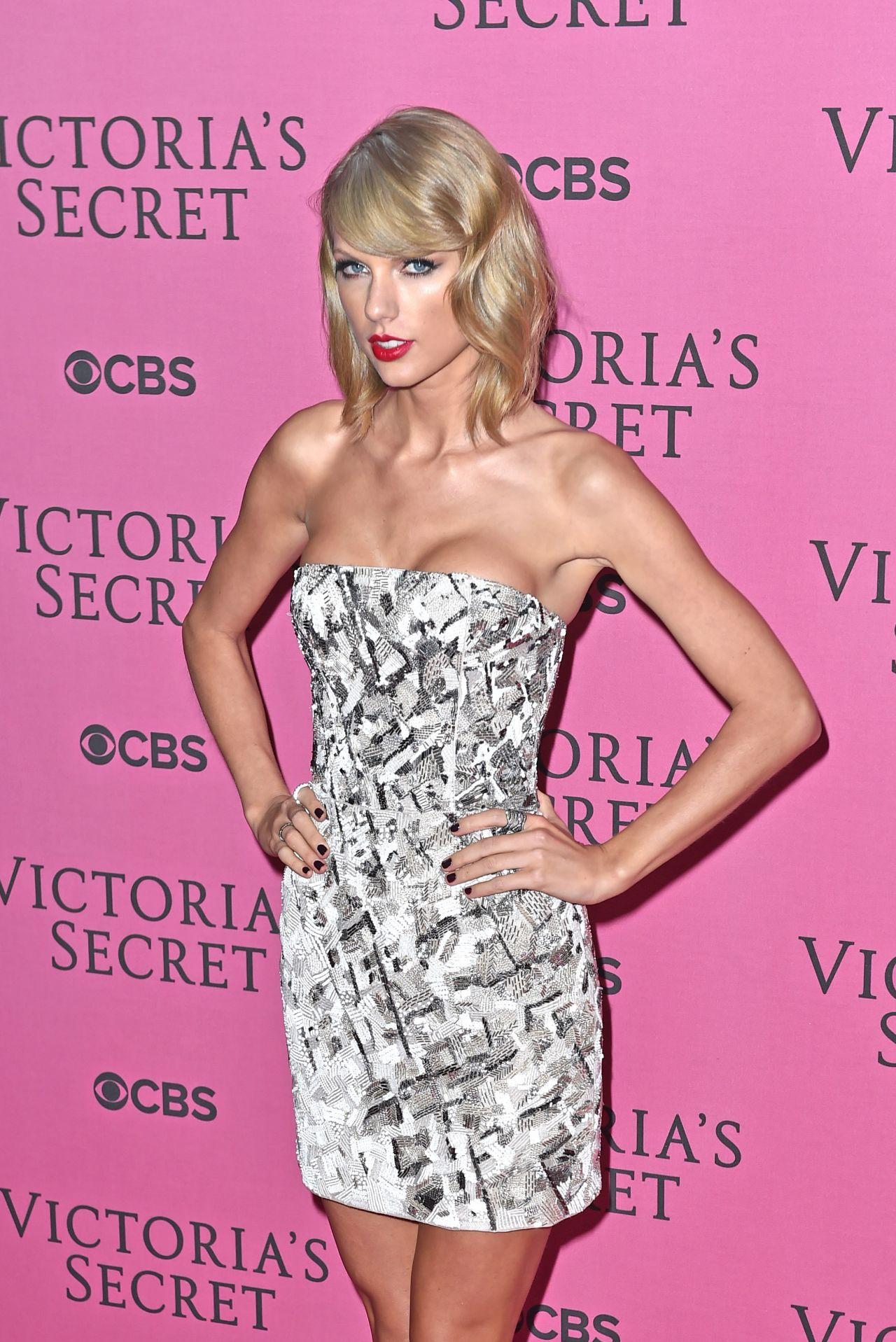 fa58f0f443b Taylor Swift on Red Carpet – 2014 Victoria s Secret Fashion Show in London