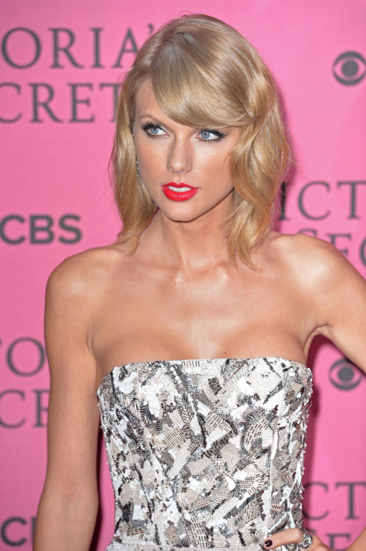 Taylor Swift On Red Carpet 2014 Victoria S Secret