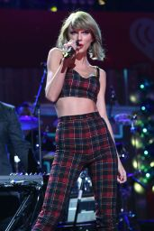 Taylor Swift Performs at Z100's Jingle Ball 2014 in New York City