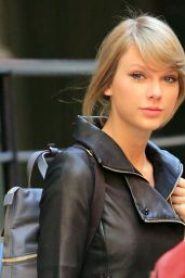Taylor Swift Street Style - Out in NYC, December 2014