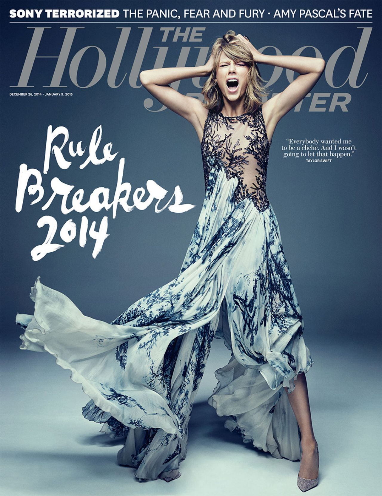 Taylor Swift - The Hollywood Reporter Magazine Cover - December 2014