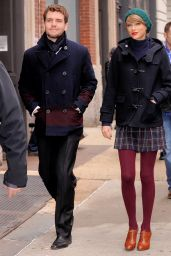 Taylor Swift Winter Style - Out in New York City, December 2014