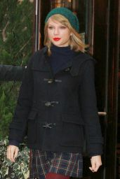 Taylor Swift Winter Style - Out in New York City - December 2014