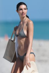 Teresa Moore in a Bikini in Miami - December 2014