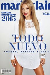 Thalía - Marie Claire Magazine (Mexico) January 2015 Cover and Photos