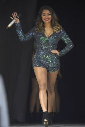 The Saturdays Performing at Radio City Christmas Live in Liverpool - December 2014