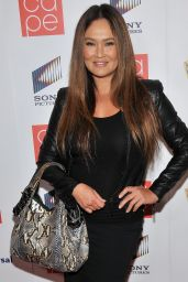 Tia Carrere – The CAPE Holiday Party in Los Angeles – December 2014