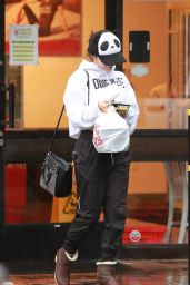 Vanessa Hudgens Style - Stopping by Fit Foods in Sherman Oaks - December 2014
