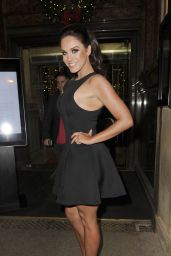 Vicky Pattison Style - at The Rosso Restaurant in Manchester, Dec. 2014